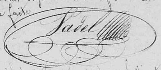 signature Vadel (NMD 1832, Nesles-la-Montagne)