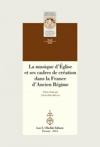 La musique d'église et ses cadres de création (nouvelle publication)