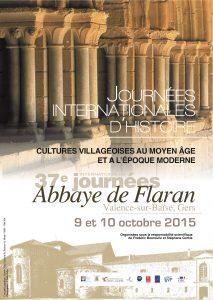 Journées internationales d'histoire de Flaran (9-10 octobre 2015)