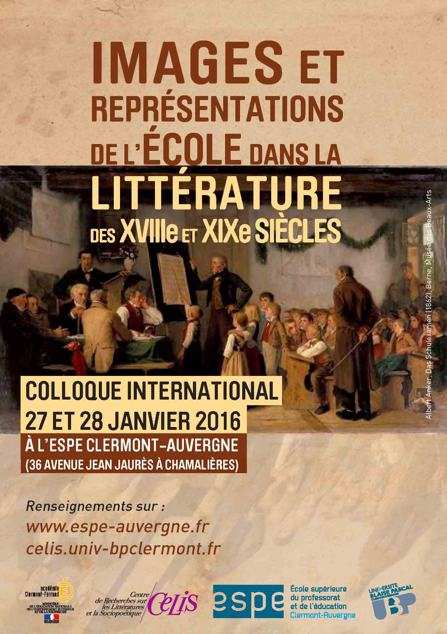 Colloque Clermont (2016)