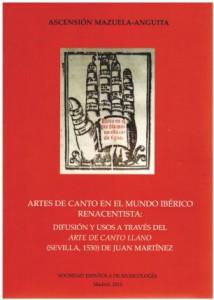 Artes de canto en el mundo ibérico renacentista (publication récente)