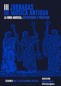 III Jornadas de Música Antigua (Valladolid, avril 2016)