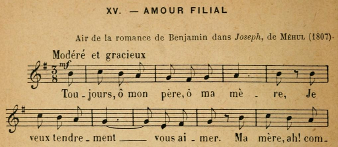 AmourFilial(Mehul-Tiersot)