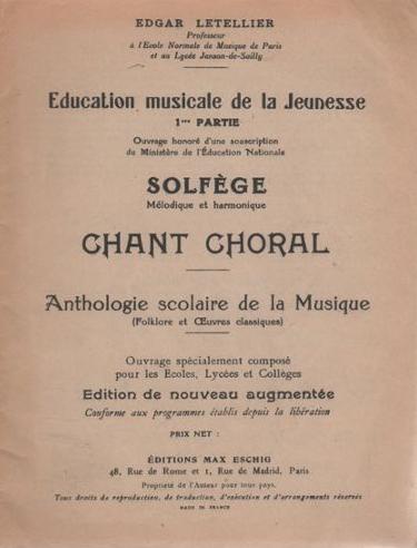 Letellier-Educationmusicaledelajeunesse