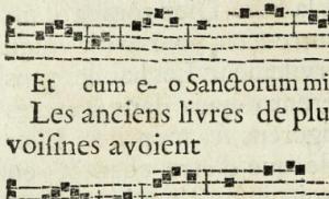 Le chant scolaire à l'époque moderne (Tours, mars 2017)